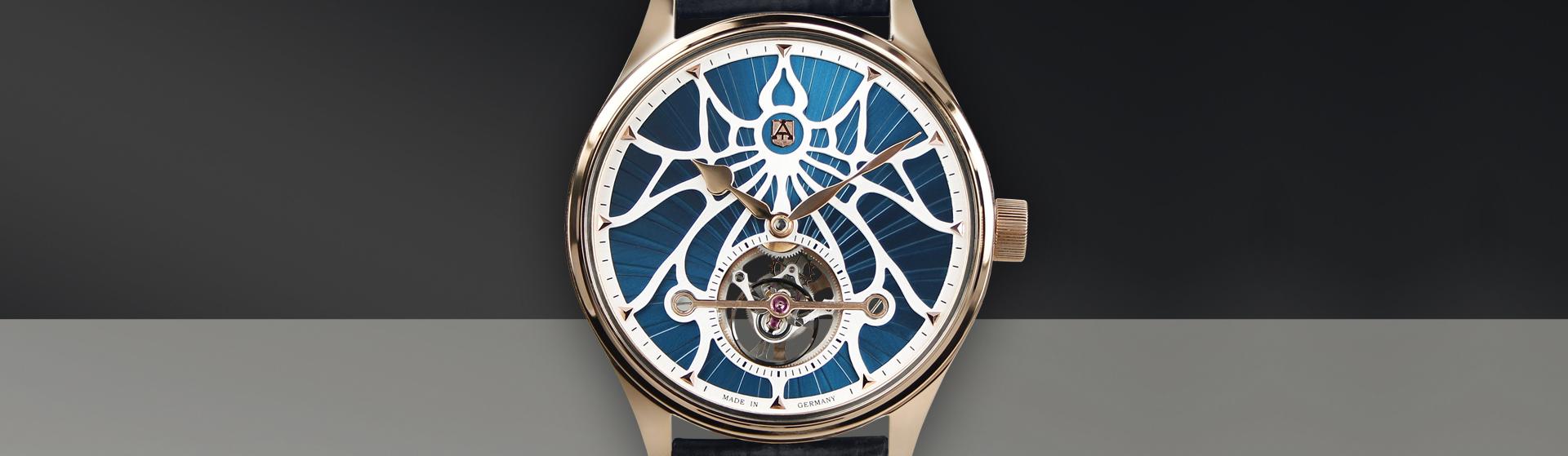 tourbillion luxury watch
