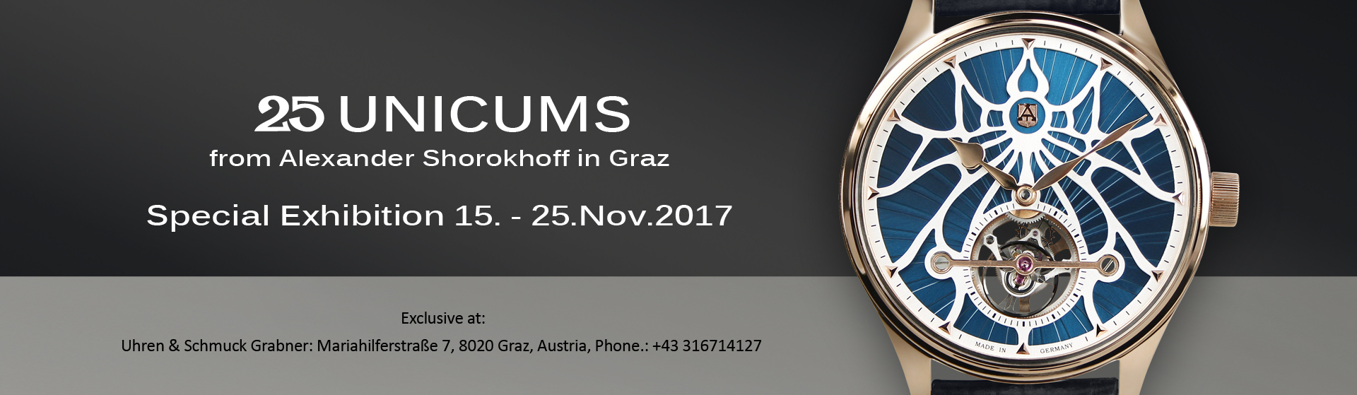 unicums alexander shorokhoff watches