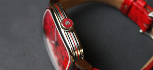 kandy red watch lifestyle